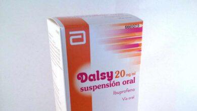 Sanidad informa de problemas de suministro de Dalsy hasta junio de 2019