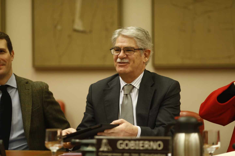 El ministro de Exteriores, Alfonso Dastis.