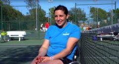 Elena Jacinto ha construido su vida tras un intento de suicidio en torno al tenis y su trabajo en la Fundación DKV Integralia.