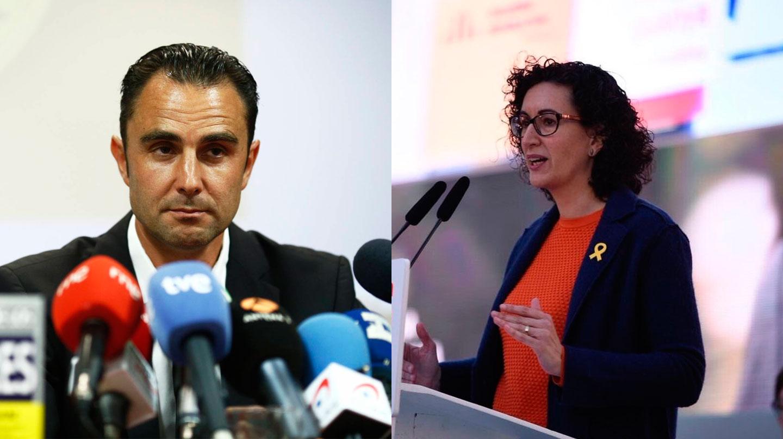 Hervè Falciani y Marta Rovira