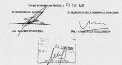 La operación que compromete a Gallardón: Sobreprecio, una empresa de Panamá...