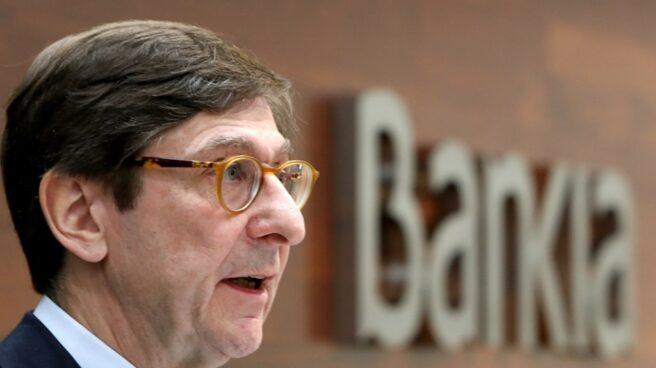Goirigolzarri descarta la fusión de Bankia con BBVA.