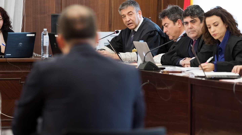 Un agente de la UCO, declarando durante el juicio de los ERE.