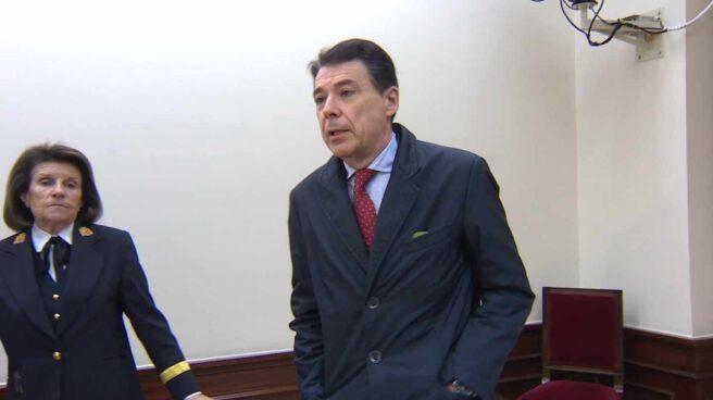 Ignacio González, durante su comparecencia en el Congreso de los Diputados.