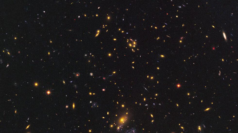 Galaxias del cúmulo MACS J1149+2223.
