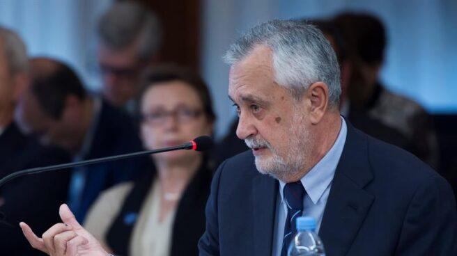 El ex presidente de la Junta de Andalucía José Antonio Griñán, declarando este miércoles en el juicio de los ERE.