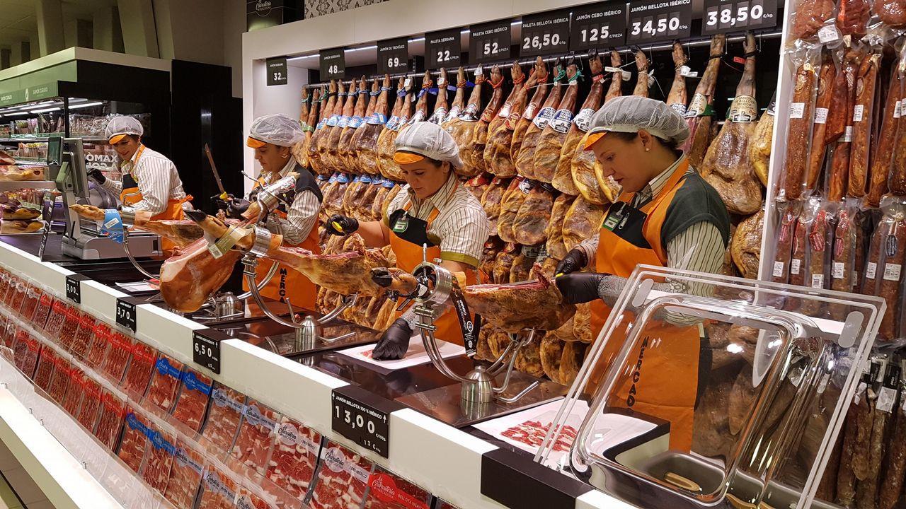 Un grupo chino quiere controlar los jamones de Mercadona.