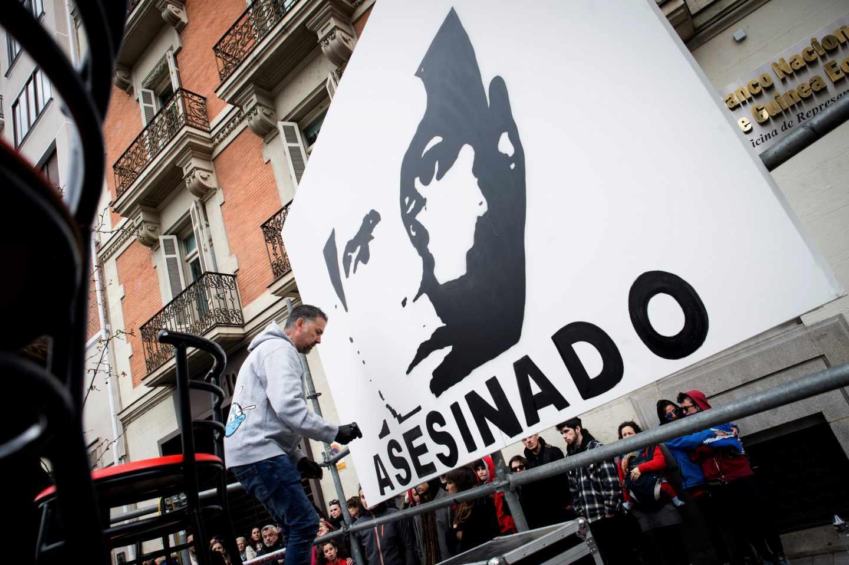 Homenaje a José Couso cuando se cumplen 15 años de su muerte.