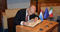 El presidente de la Corte Europea de Justicia, Koen Lenaerts.