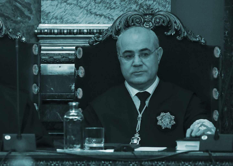 El magistrado Pablo Llarena.