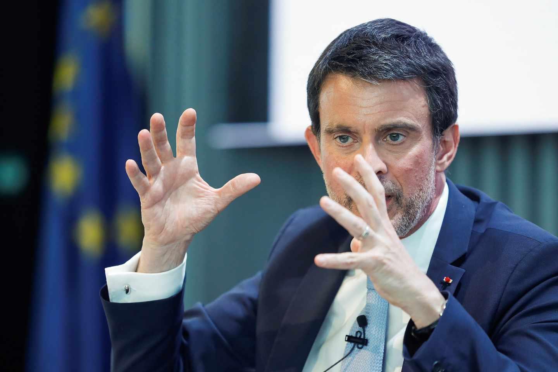 Manuel Valls, durante un foro celebrado en Madrid el pasado 19 de abril.