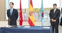 Javier Ramos (izq.), Rector de la URJC y José Ramón Monrobel (dch.) Decano del Campus de Vicálvaro.