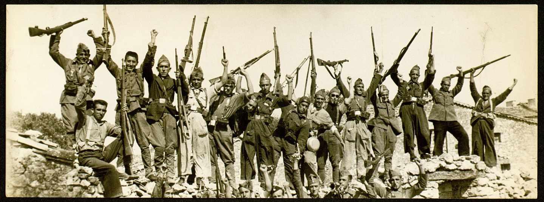 Albero y Segovia. Madrid, 1936. Milicianos del 4.º Batallón. MECD, CDMH, CAUSA-GENERAL, 1301,10, 20