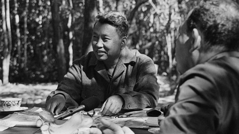 El líder de los Jemeres Rojos, Saloth Sar, más conocido como Pol Pot.