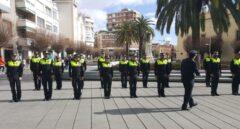 Formación de policías locales.