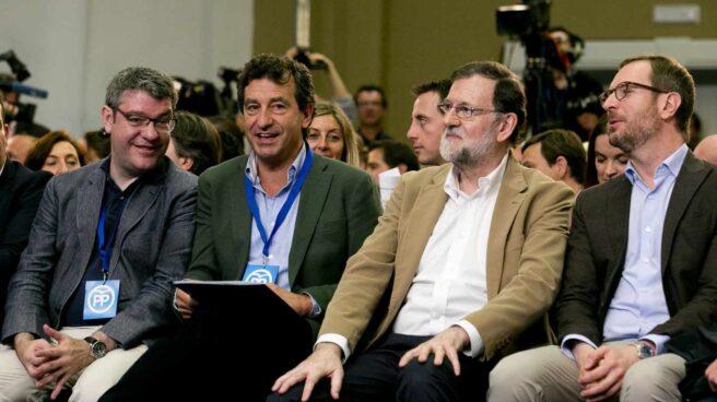 El presidente de Gobierno, Mariano Rajoy, en la Convención de Turismo del PP.
