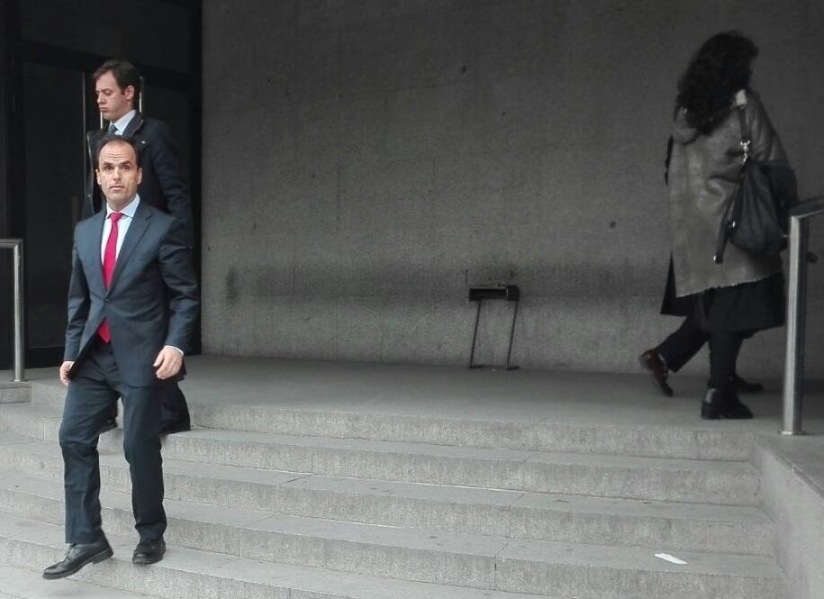 El rector de la URJC, Javier Ramos, tras poner los hechos en conocimiento de la Fiscalía el pasado 6 de abril.