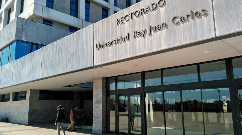 Rectorado de la Universidad Rey Juan Carlos (URJC), en Móstoles.