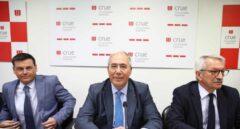 Comparecencia de la cúpula directiva de la Conferencia de Rectores para pronunciarse sobre el máster de Cristina Cifuentes.