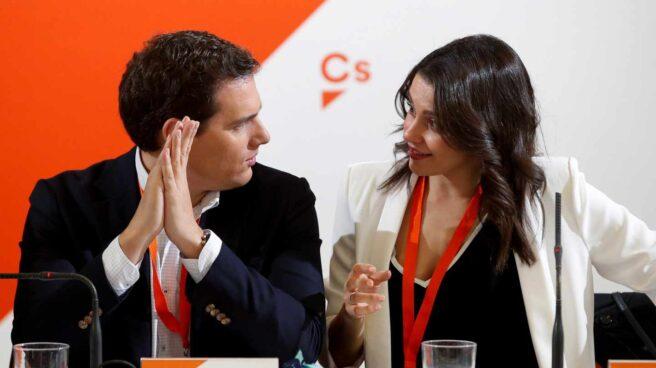 Albert Rivera e Inés Arrimadas.