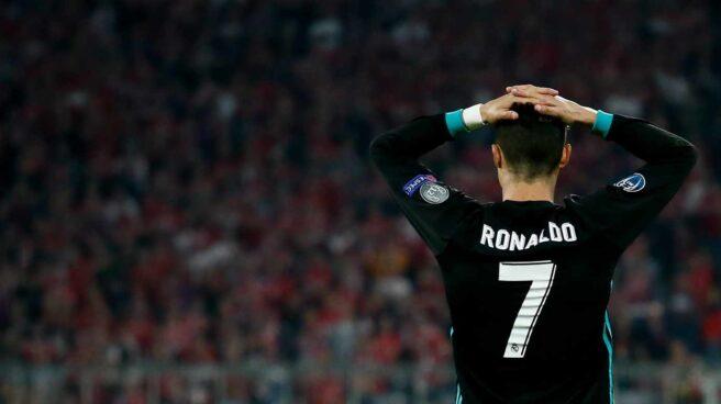 El jugador del Real Madrid Cristiano Ronaldo.
