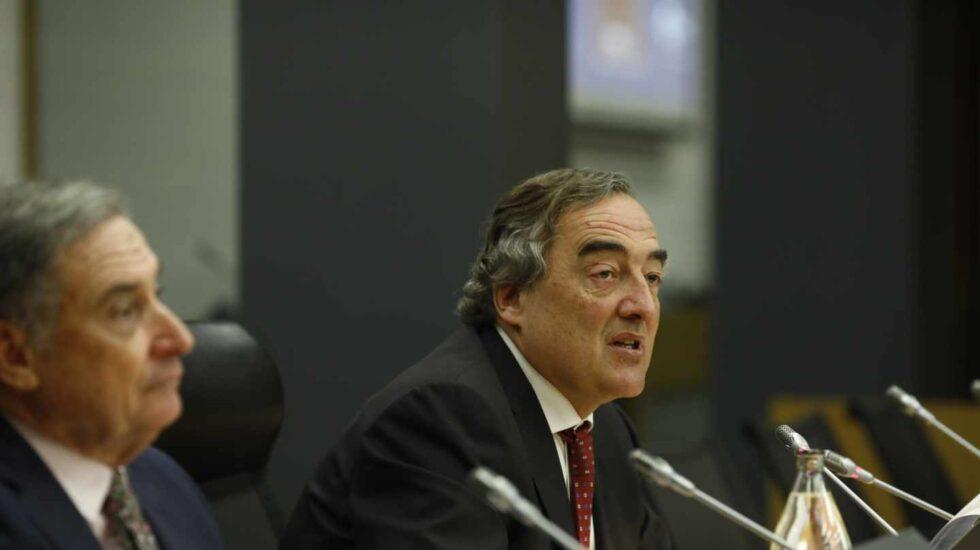 El presidente de la CEOE, Juan Rosell, firmante de los últimos acuerdos de salarios con los sindicatos.
