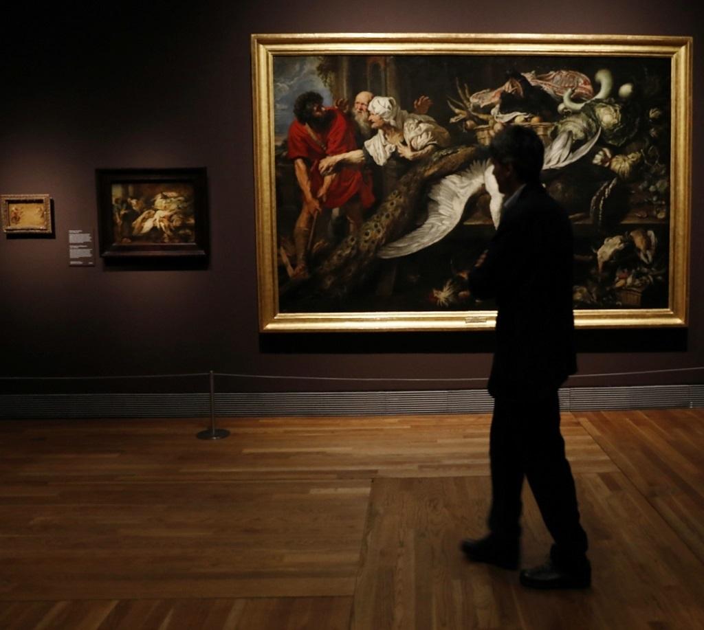 Exposición de Rubens en el Museo del Prado.
