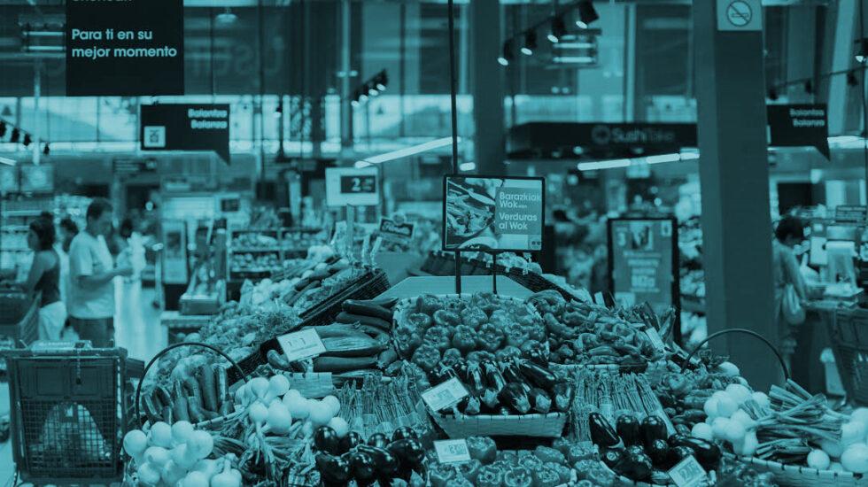 Las compañías de supermercados se hunden en bolsa.
