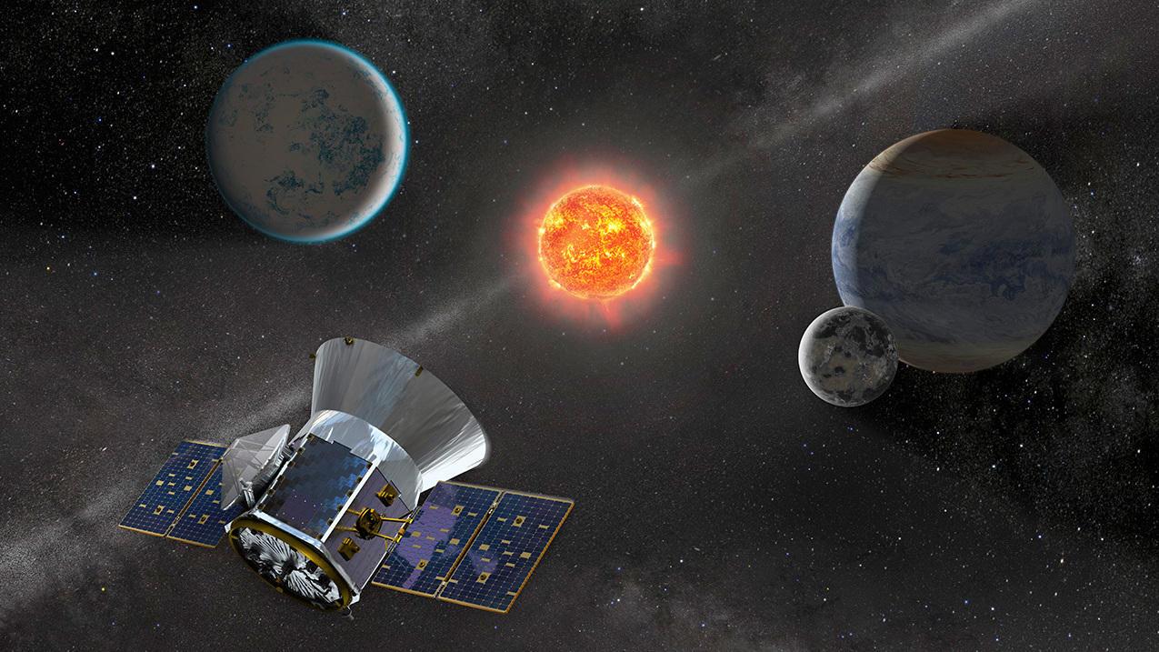 TESS, el telescipio cazaplanetas de la NASA