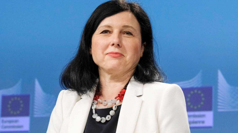 Vera Jourová, comisaria de Justicia de la Unión Europea.