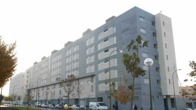 Promoción de viviendas VPO adjudicadas en 2011 en el Distrito de Barajas, en Madrid.