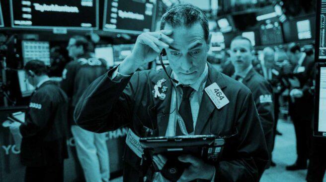 Operadores de bolsa en Wall Street.