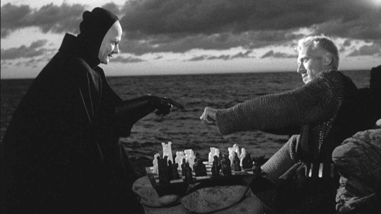 Imagen de la película 'El séptimo sello'.