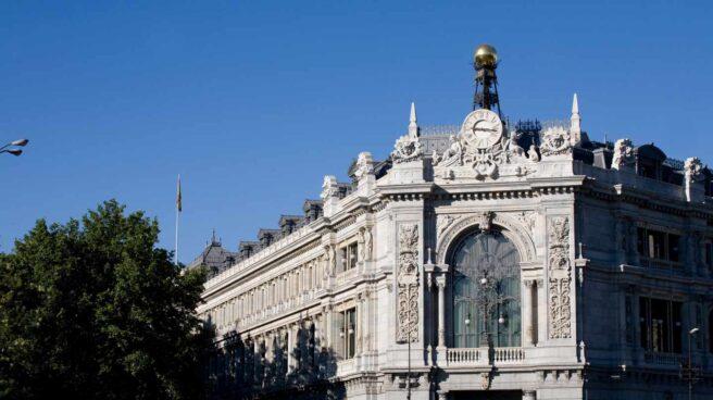 Sede central del Banco de España en la plaza de Cibeles de Madrid.