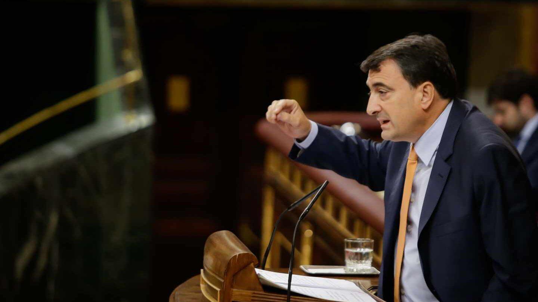 El portavoz del PNV en el Congreso de los Diputados, Aitor Esteban.