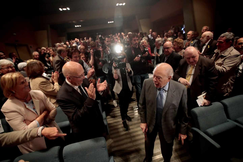Homenaje a Jordi Pujol en Barcelona.