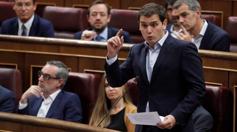 Albert Rivera en la sesión de control al Gobierno.