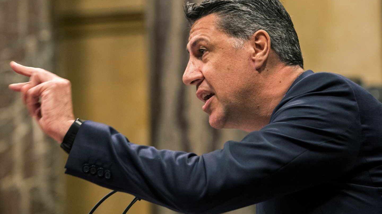 El presidente del PP en Cataluña, Xavier García Albiol.