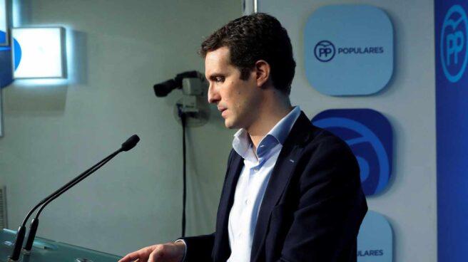 El ex vicesecretario de comunicación del PP, Pablo Casado.
