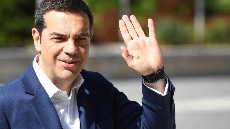 Tsipras presenta el nuevo plan económica para cuando concluya el rescate de Grecia.