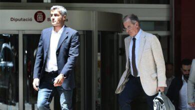 El juez deja en libertad con cargos al ex presidente de la Diputación de Barcelona