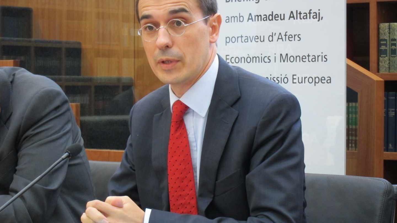 El ex representante permanente de la Generalitat ante la Unión Europea Amadeu Altafaj.