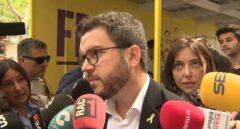 Pere Aragonés, vicepresidente de la Generalitat.