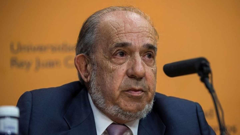 El catedrático Enrique Álvarez Conde, director del máster de Cifuentes e imputado por las presuntas irregularidades.