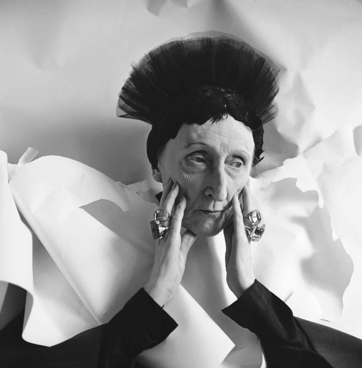 Edith Sitwell, 1962 ©The Cecil Beaton Studio Archive at Sotheby's