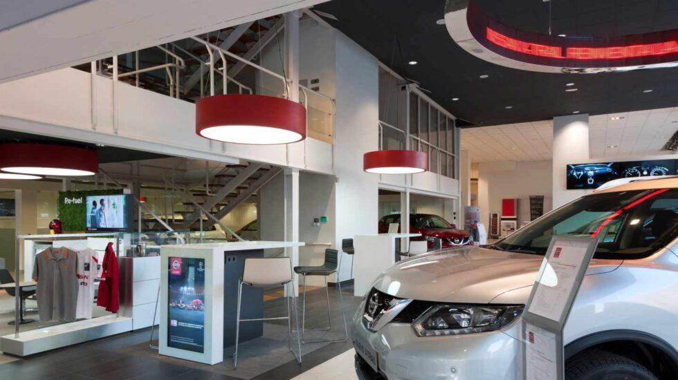 Concesionario de Nissan.