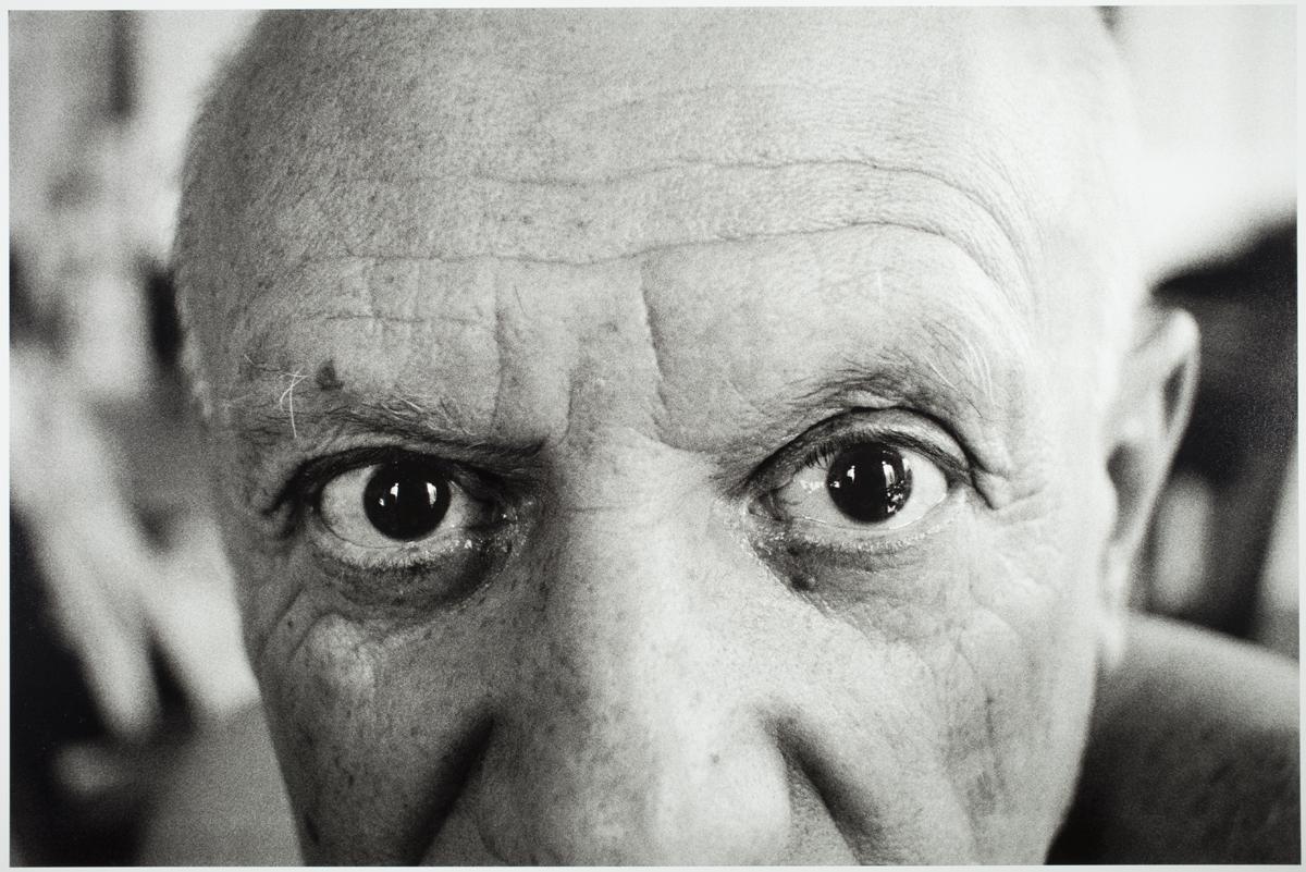 Picasso en La Californie. Cannes, julio de 1957.