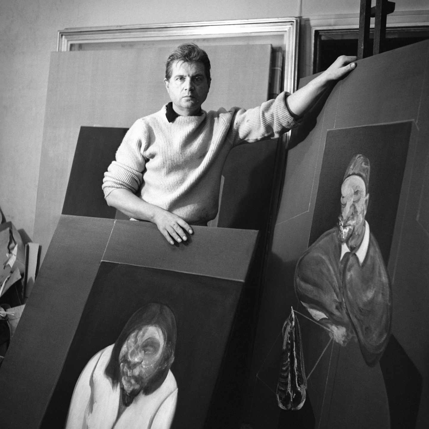 Francis Bacon 1960 ©The Cecil Beaton Studio Archive at Sotheby's