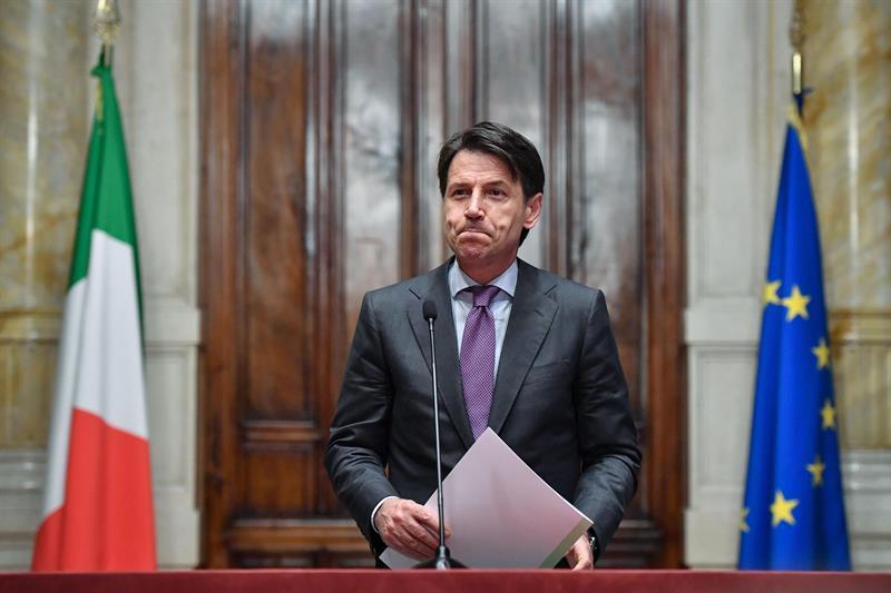 Giuseppe Conte, primer ministro designado del primer gobierno anti establishment de Italia