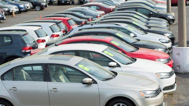 Imagen de un concesionario de coches en Madrid.